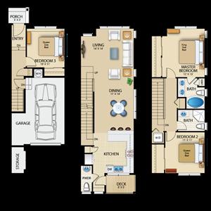 TheWoodlands_Snoqualmie_WA_FloorPlan_Larkspur_3Bedroom_2Bathrooms