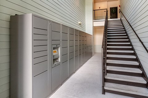The Alexander at Sabal Point Amazon Lockers