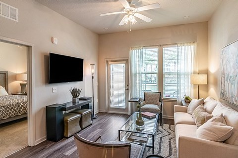 The Alexander at Sabal Point Living Room