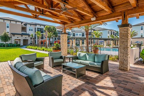 The Alexander at Sabal Point Outdoor Patio