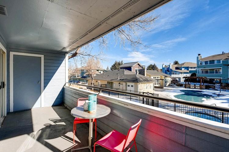 Balcony at Conifer Creek Apartments in Aurora, IL