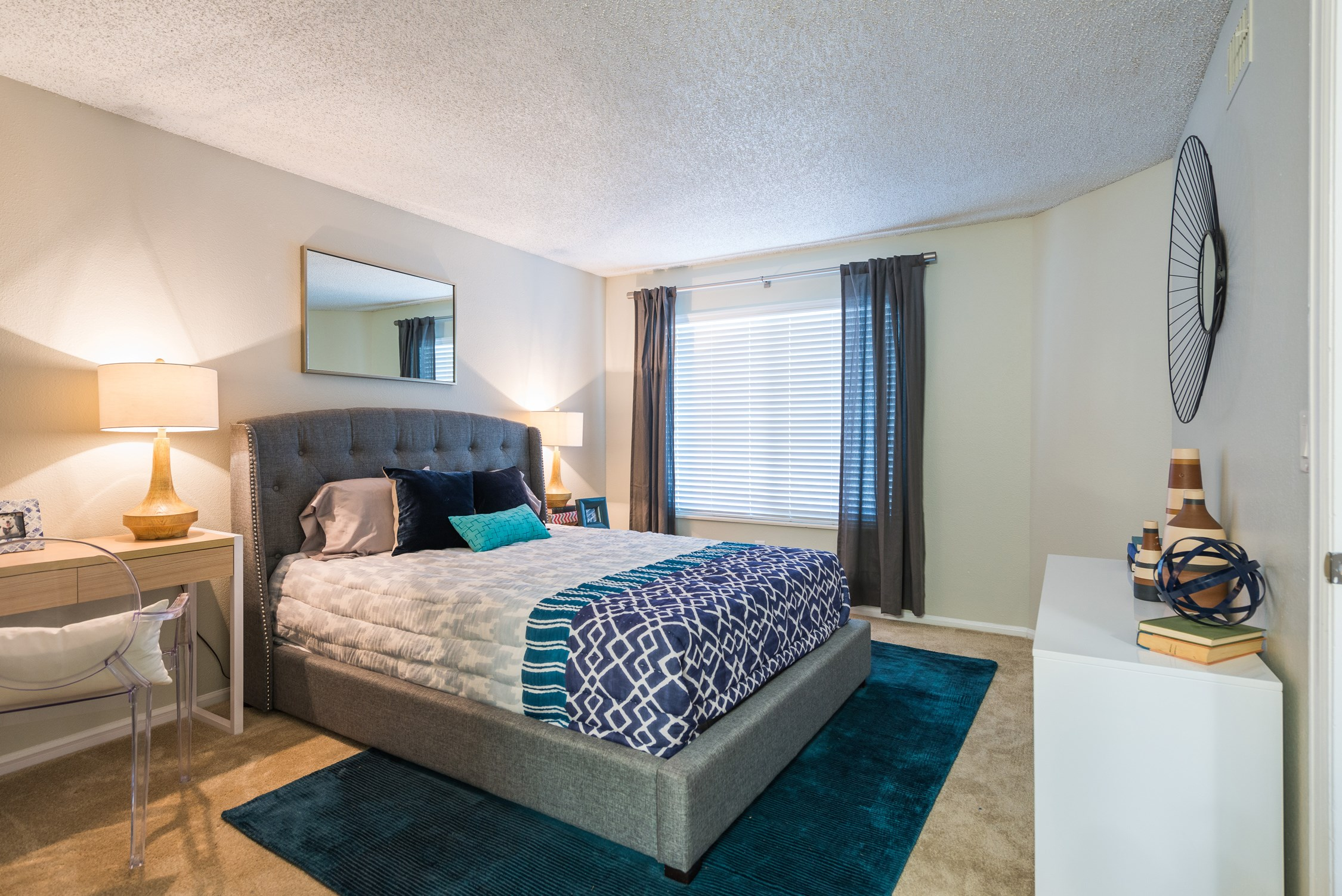 Bedroom at Conifer Creek Apartments in Aurora, IL