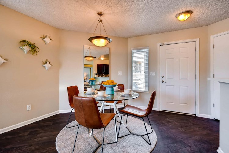 Dining Area at Conifer Creek Apartments in Aurora, IL