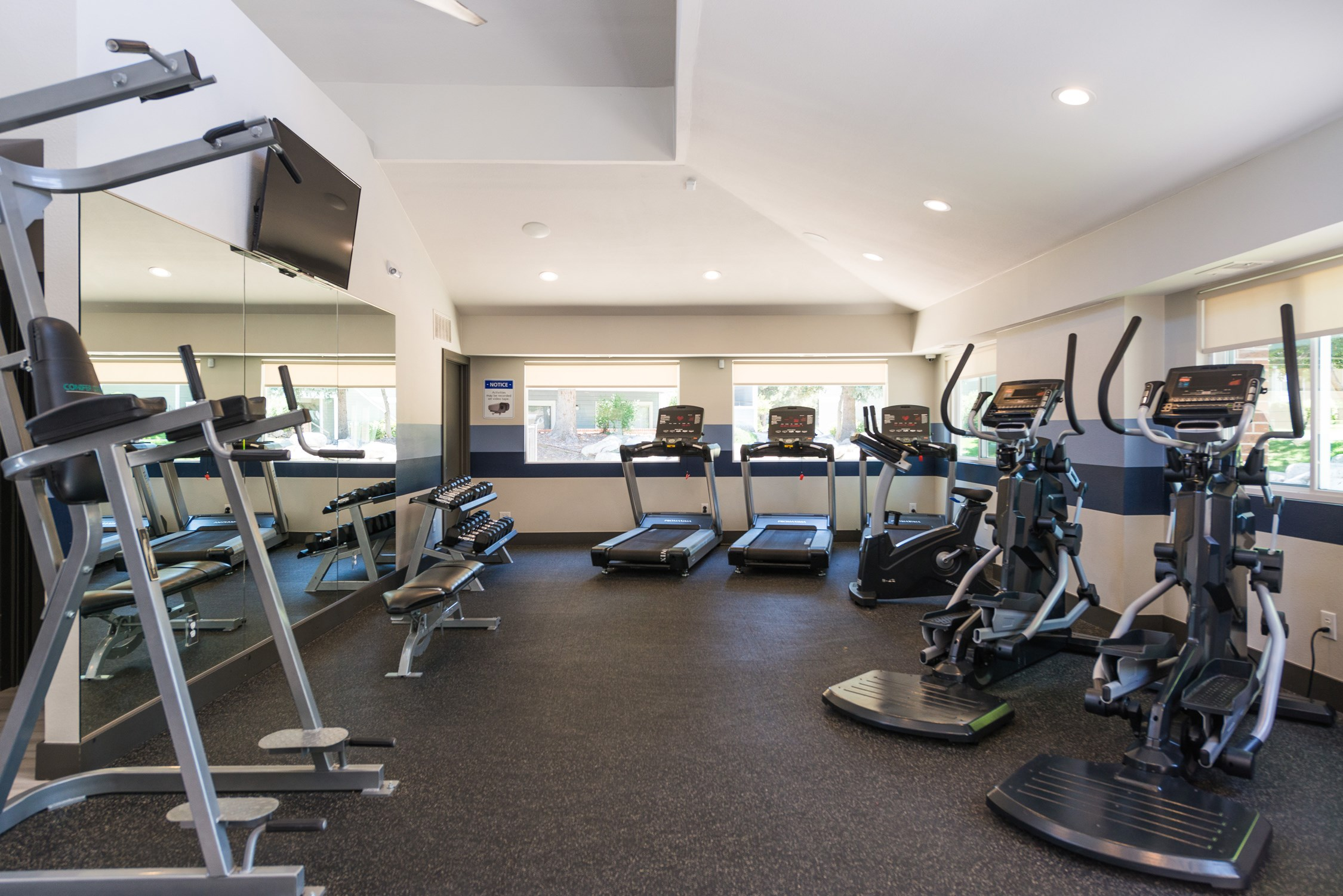 Fitness Center at Conifer Creek Apartments in Aurora, CO