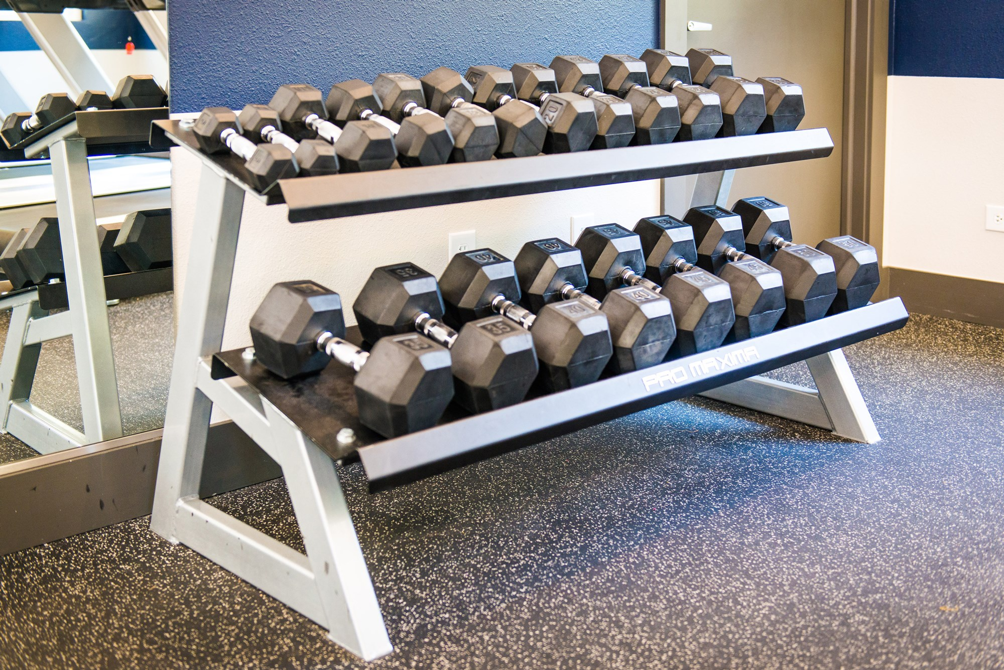 Free Weights at Conifer Creek Apartments in Aurora, CO