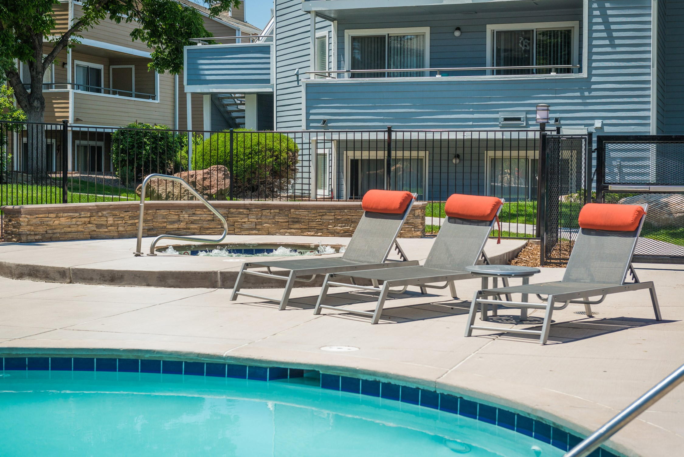 Swimming Pool at Conifer Creek Apartments in Aurora, CO