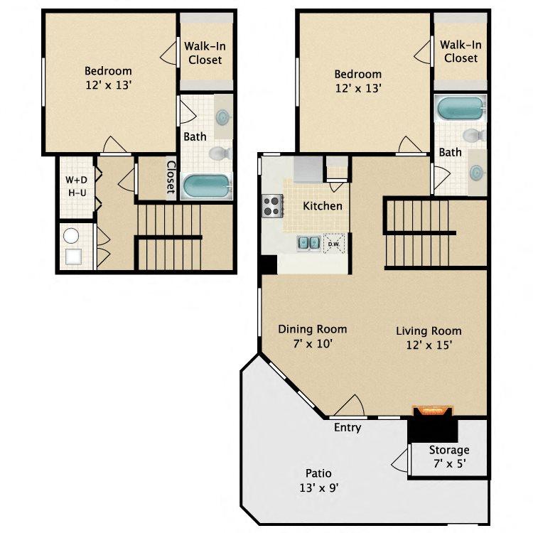 2B Floor Plan 5