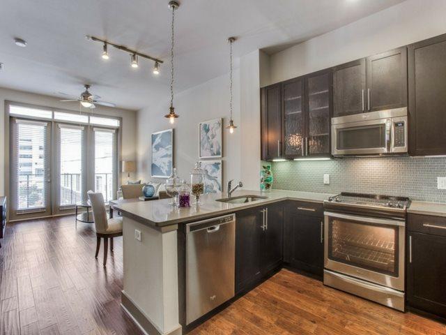 Modern Kitchen at Windsor CityLine