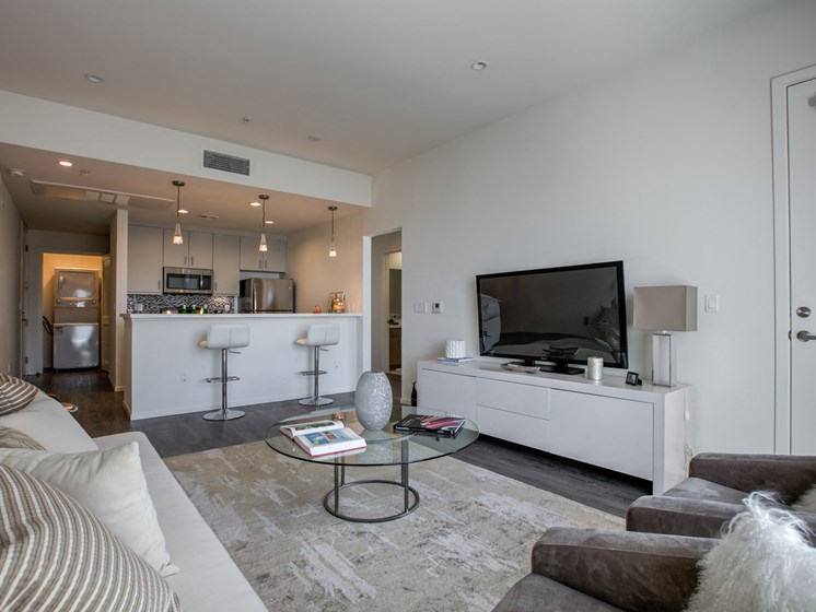 High Ceilings in Apartments in Glendale, at Legendary Glendale, 300 N Central Ave