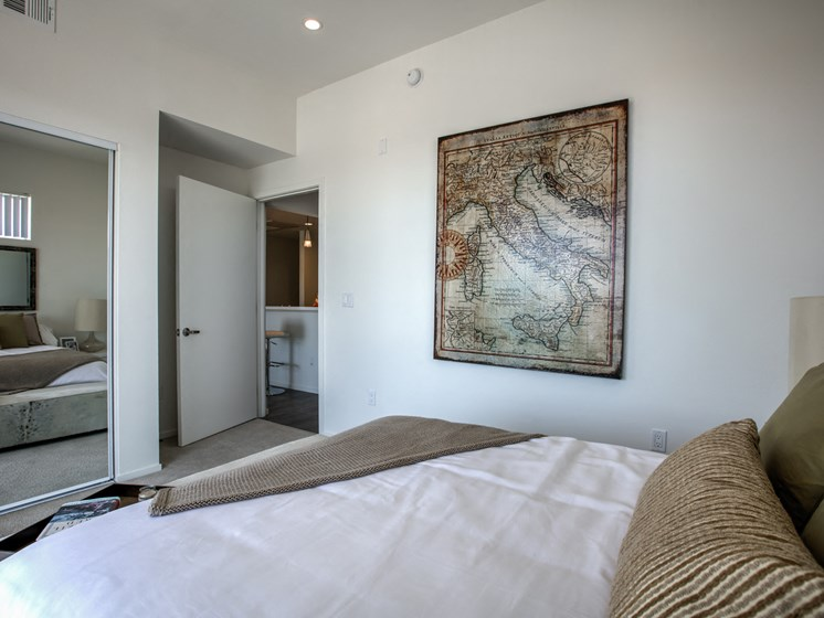 Large Rooms with Storage, at 300 N Central Ave, CA, Legendary Glendale Apartments