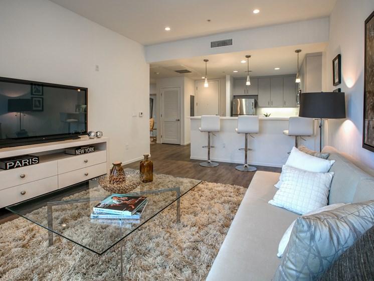 Hardwood Floors at Apartments in Glendale, Legendary Glendale, 300 N Central Ave, California