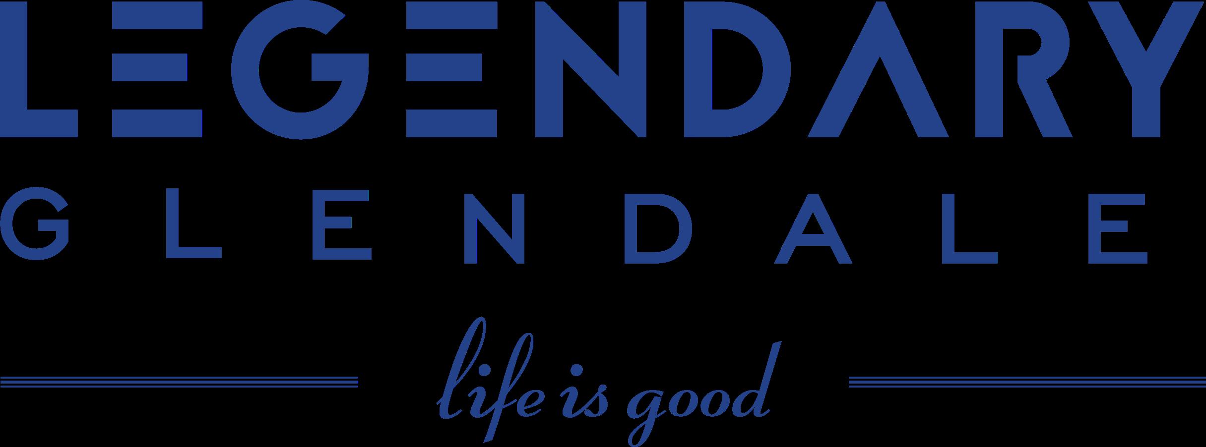Legendary Glendale Logo, Luxury Apartments in Glendale, CA