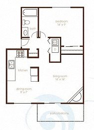 One two three bedroom apartments in vancouver wa layouts - 2 bedroom apartments in vancouver wa ...