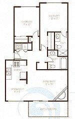 Treeline604_Vancouver_WA_2Bedroom_2Bathroom_FloorPlan