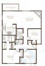 Treeline604_Vancouver_WA_3Bedroom_2Bathroom_FloorPlan