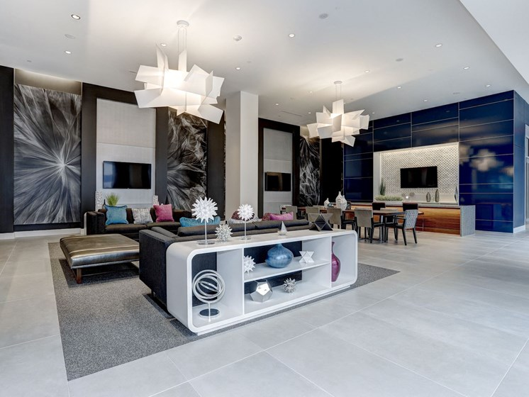 m.flats Clubroom at TENmflats, Columbia, MD, 21044