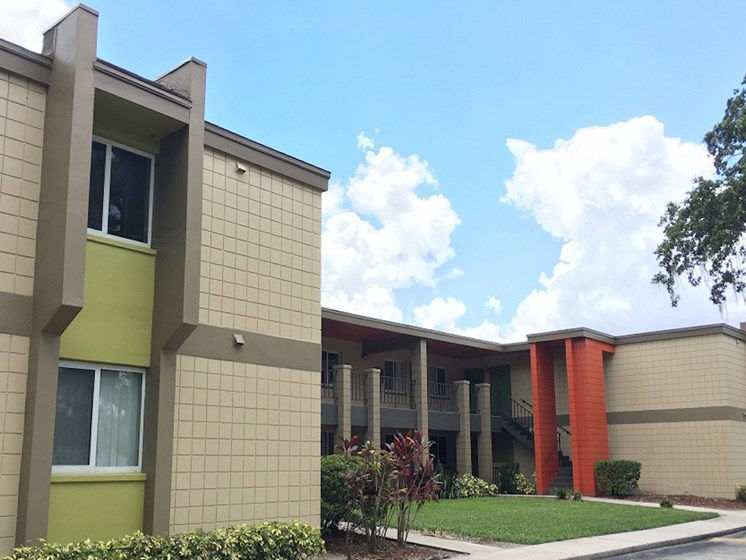 The Mark at SoDo South Downtown Orlando, FL 32806 Apartment Homes view of exterior of homes