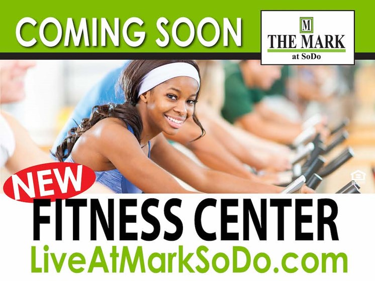 The Mark at SoDo apartments in South Downtown Orlando, FL 32806 New Fitness Center