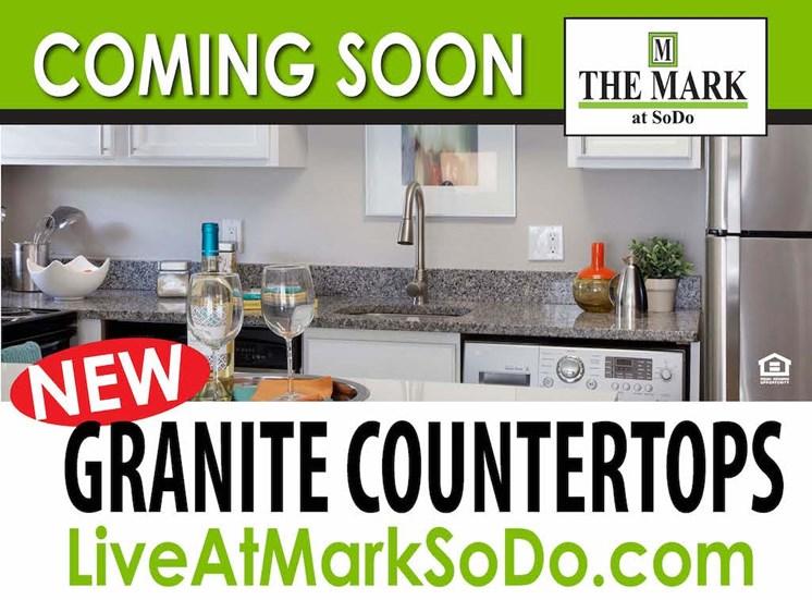 The Mark at SoDo South Downtown Orlando, FL 32806 Granite Countertops