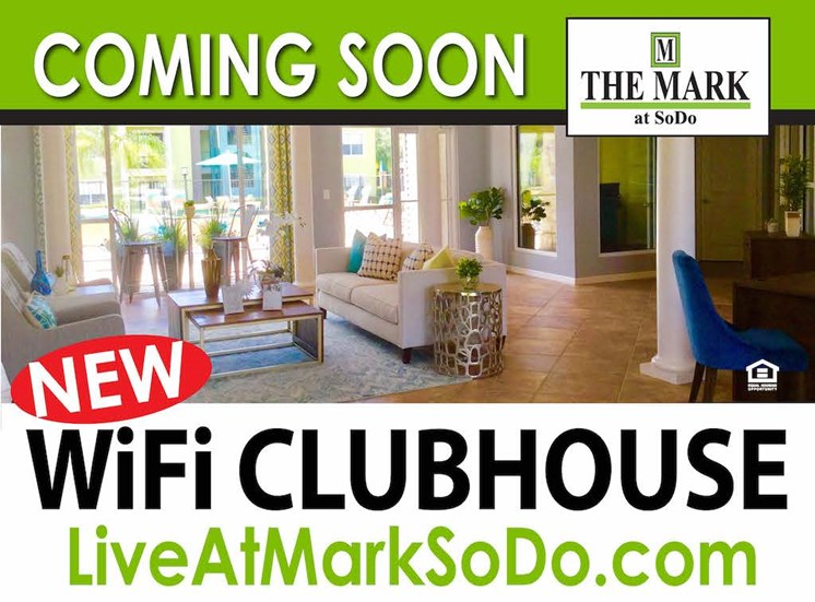 The Mark at SoDo South Downtown Orlando, FL 32806 Wifi Clubhouse