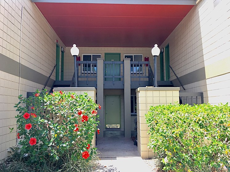 The Mark at SoDo South Downtown Orlando, FL 32806 Entrance to apartment home