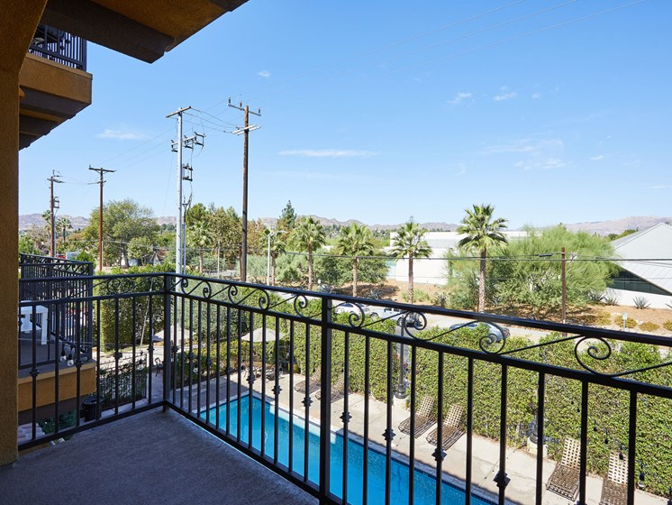 Private Apartment Balcony at The Verandas, Canoga Park, 91304