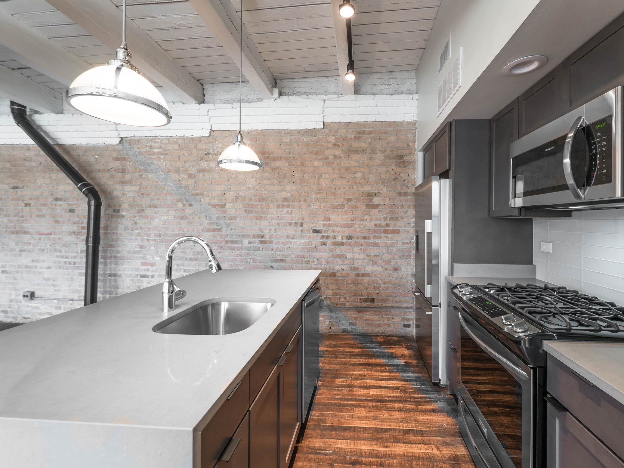 Renovated Kitchens at 1012 W. Randolph St. Chicago, IL 60607