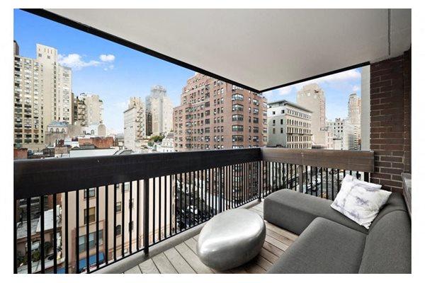 W Nd St Rentals New York NY RENTCafé - Patio balcony