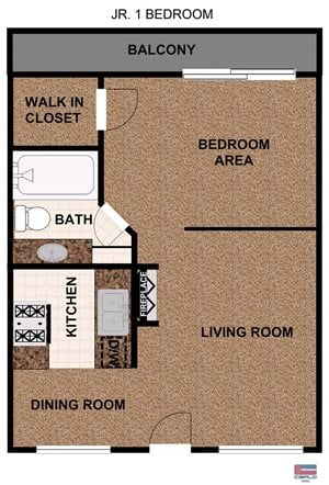 JR One Bedroom