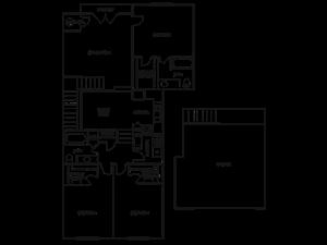THREE BEDROOM- TWO BATH (D3)