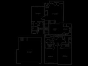 THREE BEDROOM- TWO BATH (D4)