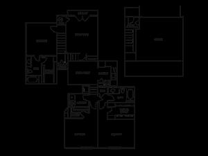 THREE BEDROOM- TWO BATH (D5)