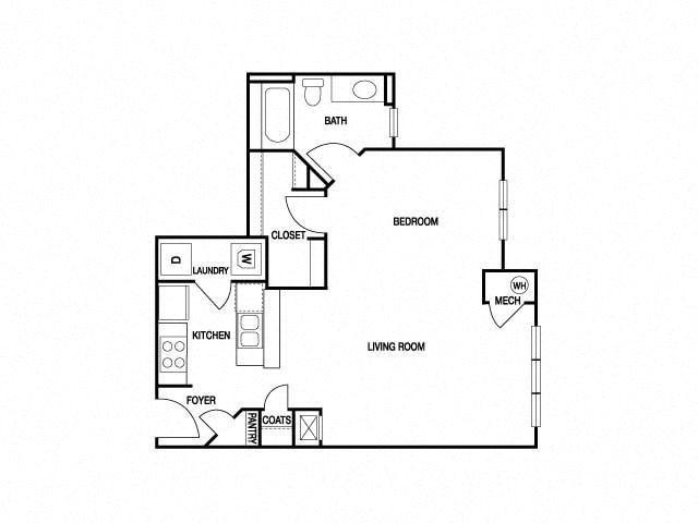 STUDIO (S) Floor Plan 1