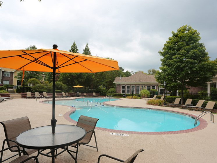 Resort Inspired Pool at The Views at Jacks Creek, Snellville, GA