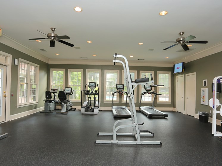 Fitness Center at The Views at Jacks Creek, Snellville, Georgia