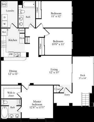 Three Bedroom Plan B