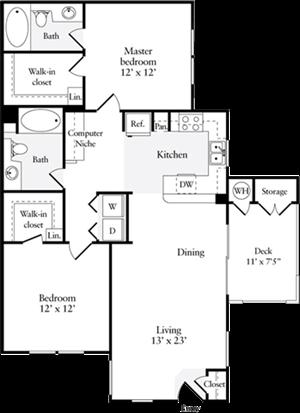Two Bedroom Plan C