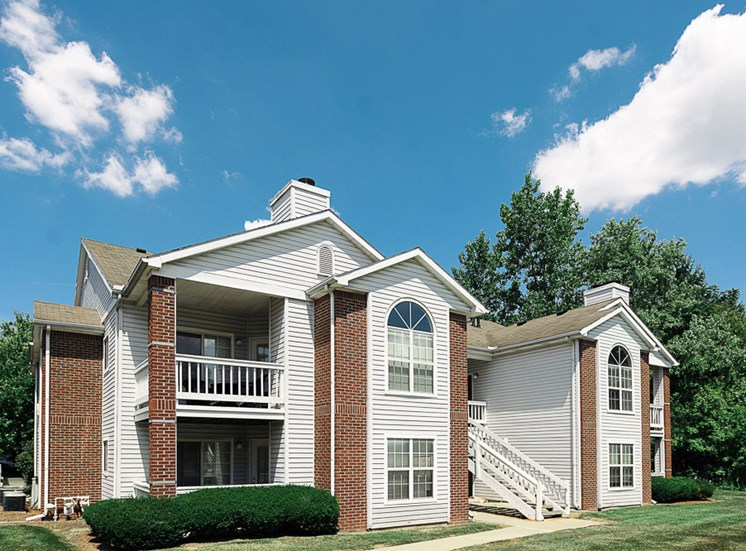 Apartments in Toledo, OH building