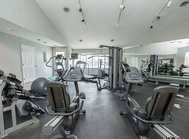 Apartments in Toledo, OH fitness center