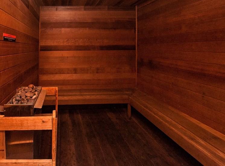 Apartments in Toledo, OH sauna