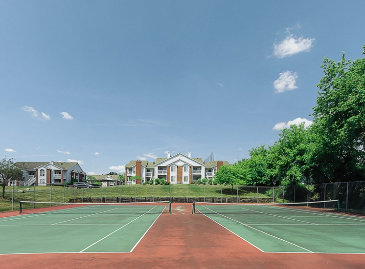 Tennis Court at apartments