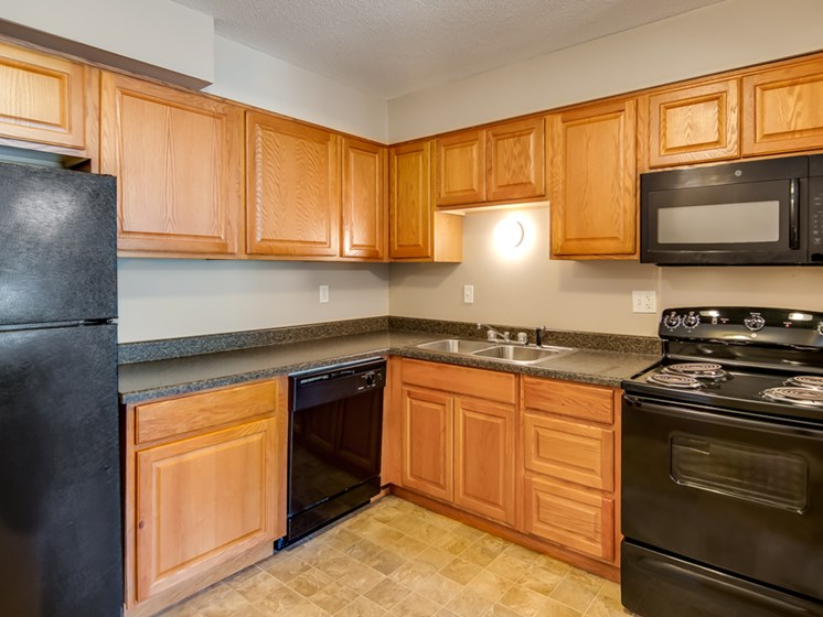 New appliances at Forest Park Apartments in North Kansas City, MO