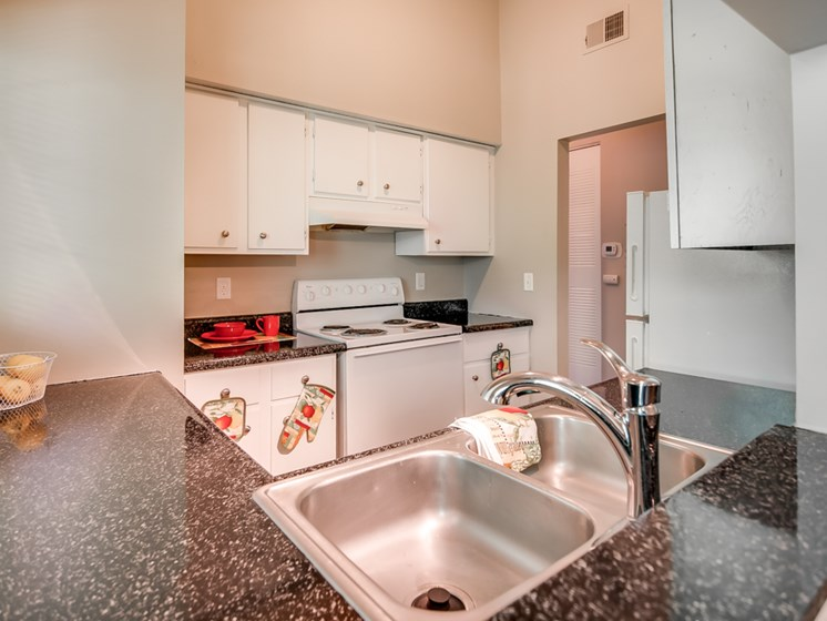 Updated Kitchens at Forest Park Apartments in North Kansas City, MO