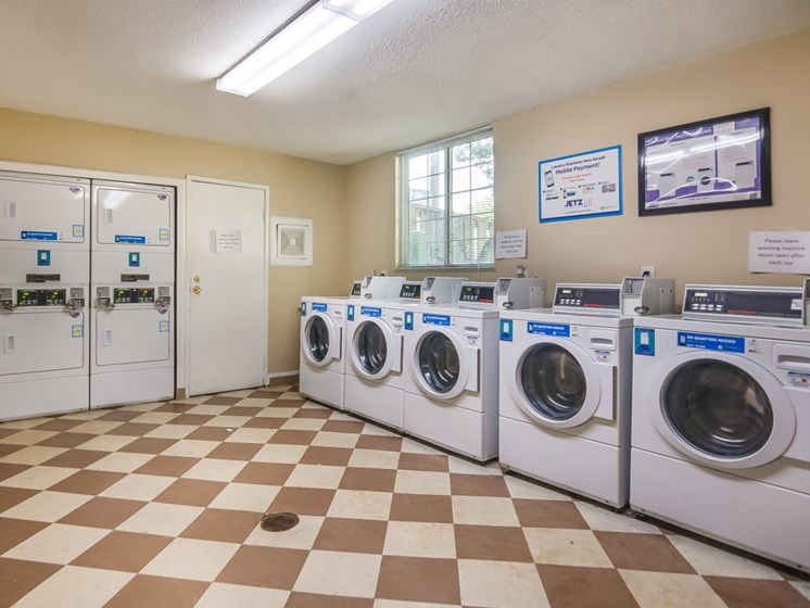 Washers and Dryers at Forest Park Apartments in North Kansas City, MO
