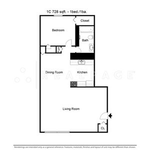 1 bedroom at Forest Park In Kansas City, MO