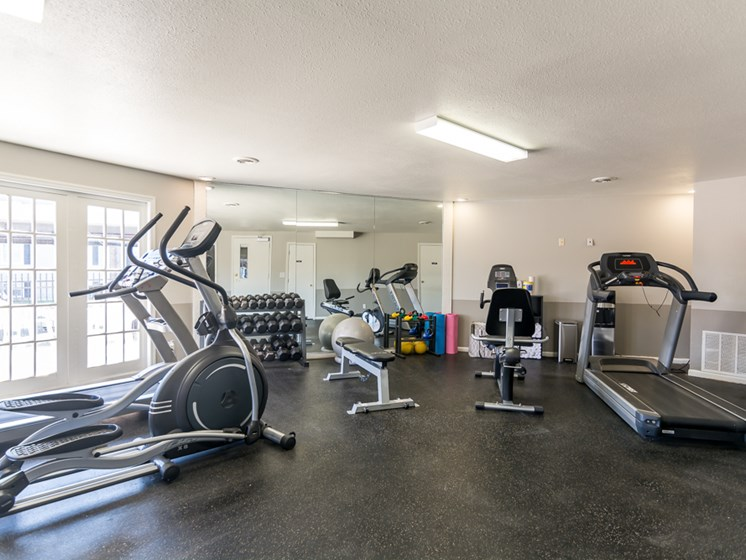 Fitness at Regency North Apartments in North Kansas City, MO