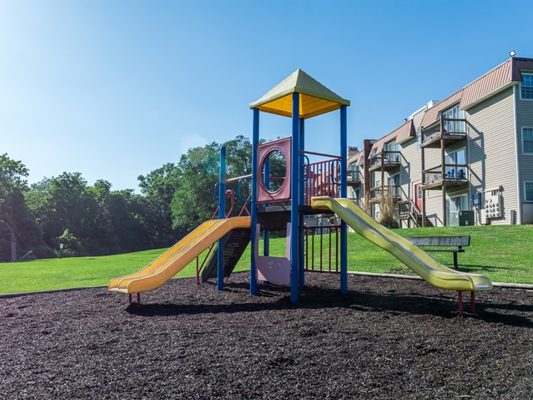 Playground at Regency North Apartments in North Kansas City, MO