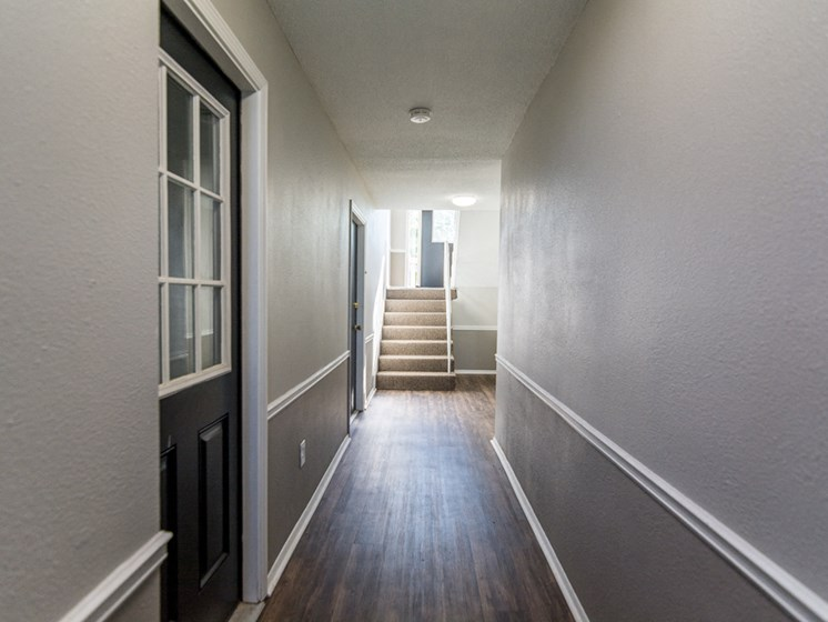 Apartments in Kansas City Hallway