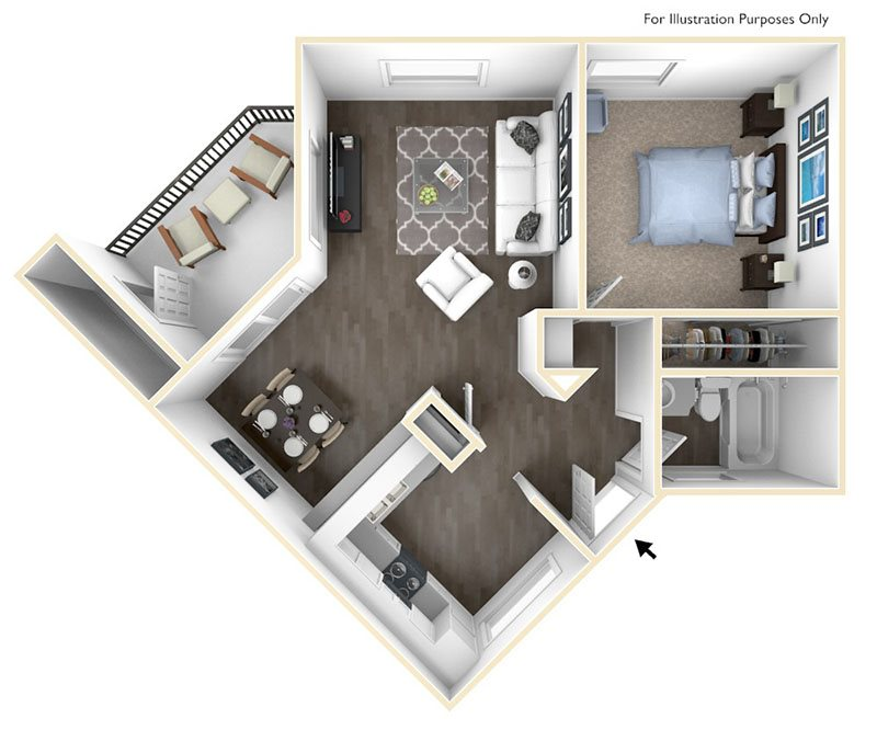 Chaparral Floor Plan 2