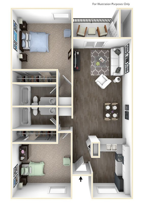 Larkspur Floor Plan 3